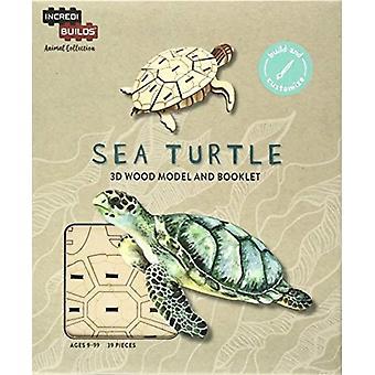 IncrediBuilds Animal Collection Sea Turtle