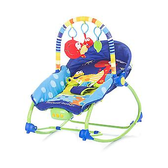 Chipolino baby rocker Fiesta, adjustable with playing arc, music and vibration