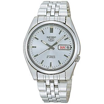 Seiko 5 Automatic Silver Dial Stainless Steel Men's Watch SNK355K1