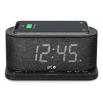 Clock-Radio with Wireless Charger SPC 4582N 4,3