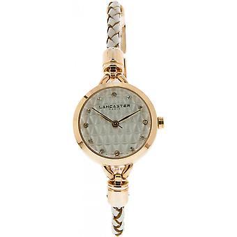 Lancaster watch watches SOPRANO LPW00397A - watch leather white woman SOPRANO