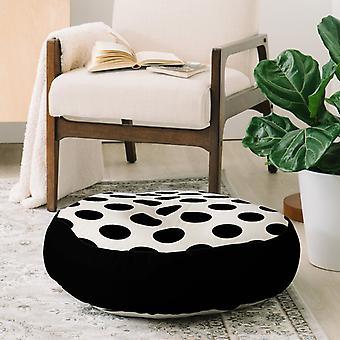 Mustia pisteitä lattia tyyny