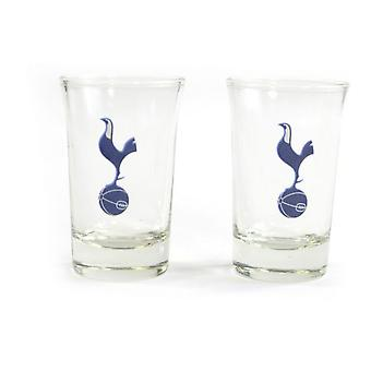 Tottenham Hotspur FC Home Word Mark Shot Glasses (Pack Of 2)