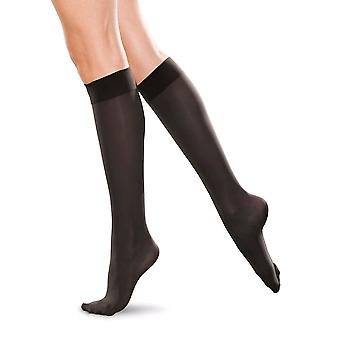 Therafirm Compression Knee Highs For Men And Women [Style AB10] Black  XXXXL