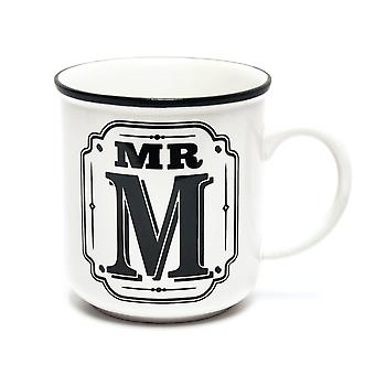 History & Heraldry Alphabet Mugs-mr M