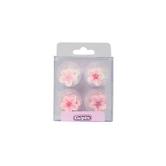 Culpitt pink blomst sukker Pipings-pakning med 12