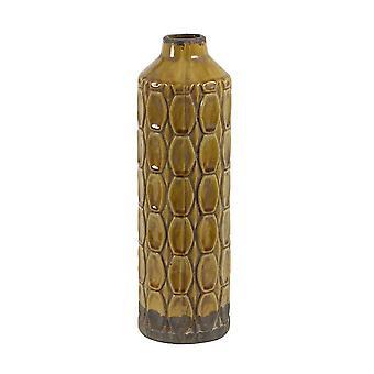 Light & Living Vase Deco 13.5x43.5cm Baluran Ocher Brown