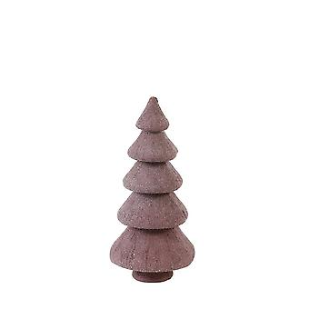 Light & Living Ornament 8.5x18.5cm Tree Purple