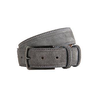 Beautiful Grey Suede Men's Belt
