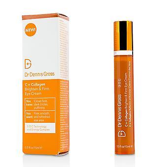 C + collagen brighten & firm eye cream 212920 15ml/0.5oz