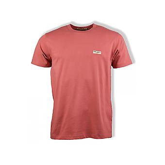 Nudie Jeans Co Daniel Short-Sleeved T-Shirt (Dusty Red)