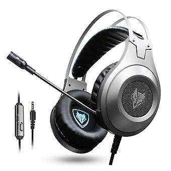 NUBWO N2 Stereo Gaming Headphones Headset Headphones with Microphone Black - Copy