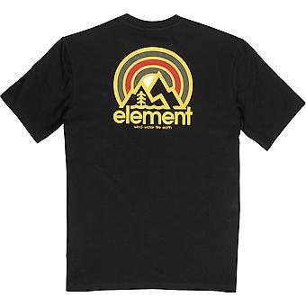 Element Men's T-paita ~ Sonaatti musta