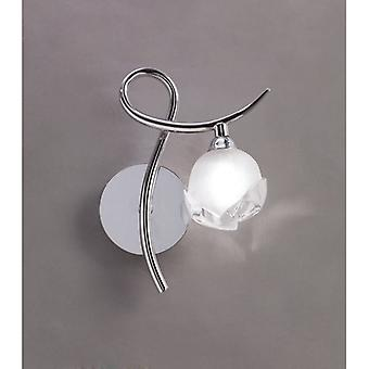 Fragma Wall Lamp Right Switched 1 Light G9, Polished Chrome