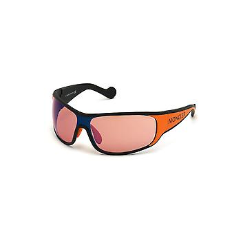 Moncler ML 0129 05E Black Other/Brown Glasses