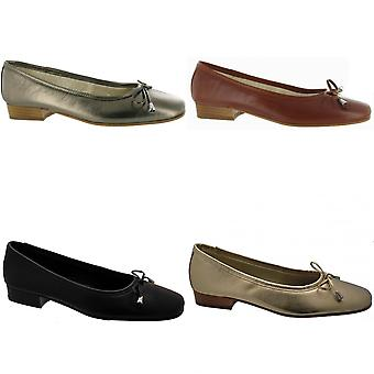 Riva Provence Ladies Leather Ballerina / Womens Shoes