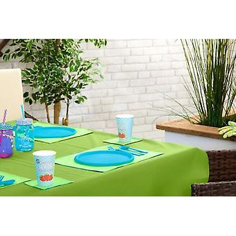 Gardenista Outdoor Dining vedenkestävä pöytäliina - suorakulmainen 70&x108& (178cm x274cm) Lime