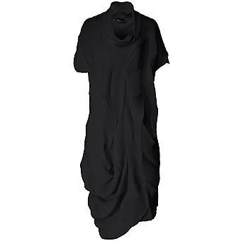 NU strukturalny plisowana sukienka