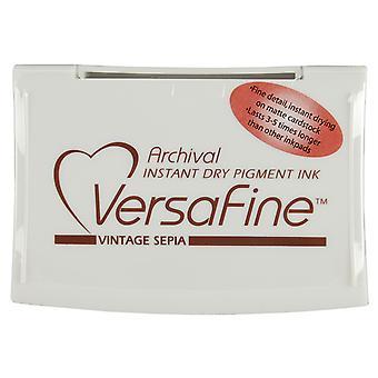 VersaFine pigmentti muste Pad-Vintage Sepia