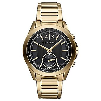 Armani Exchange Mens Quartz Analog Watch with stainless steel band AXT1008