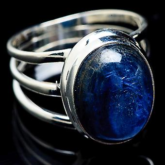 Kyanite Ring Size 11 (925 Sterling Silver)  - Handmade Boho Vintage Jewelry RING3085