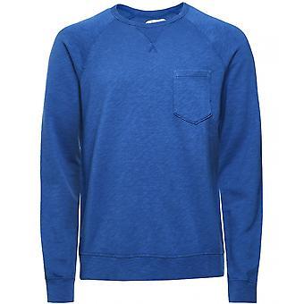 Hartford Crew Neck Pocket Sweatshirt