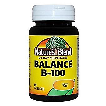 Nature's blend balance b-100, tablets, 50 ea
