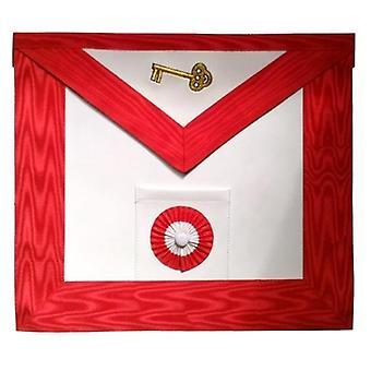 Masonic szkocki obrzęd skórzany fartuch masońskie - aasr - 7 stopień