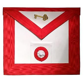 Masonic scottish rite leather masonic apron - aasr - 7th degree