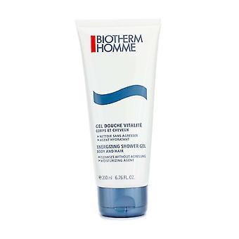 Homme energizing shower gel for body & hair 200ml/6.7oz