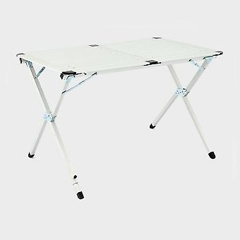 New Hi-Gear Elite Double Camping Table Silver