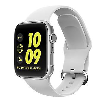 Apple Watch βραχιόλι σιλικόνης 42/44 - Λευκό