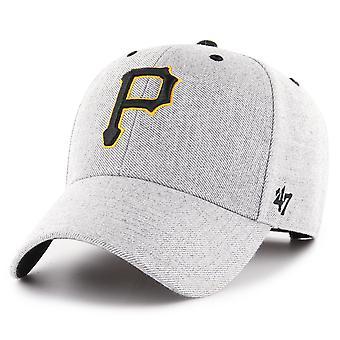 47 מותג מתכוונן כובע-ענן פיטסבורג פיראטים אפור