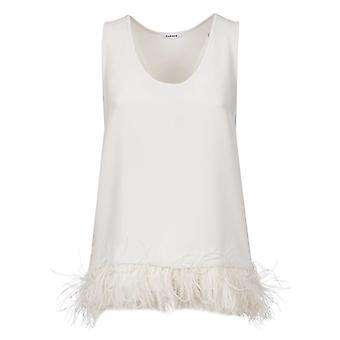 P.a.r.o.s.h. D311250p002 Women's White Cotton Top