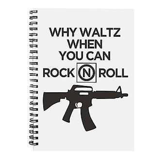 The Lost Boys Why Waltz When You Can Rock N Roll Spiral Notebook