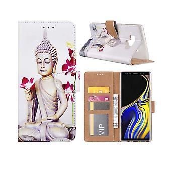 FONU Boekmodel Hoesje Buddha Samsung Galaxy Note 9