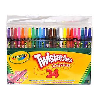 Crayola Unisex Twistable Crayons 00