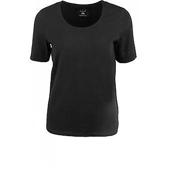 Bianca Black Jersey T-Shirt