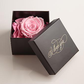I Love You Gift 1 Eternal Rose Pink