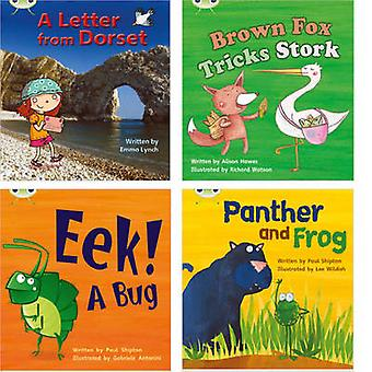 Learn to Read at Home with Phonics Bug Pack 5 Pack of 4 reading books with 3 fiction and 1 nonfiction by Emma Lynch & Alison Hawes & Paul Shipton