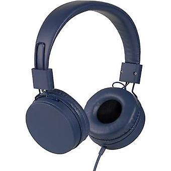 Vivanco NEOS Hi-Fi On-ear headphones On-ear Ear clip Blue
