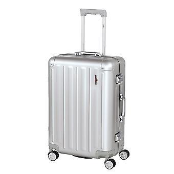 Hardware Profile Plus Alu Trolley M, 4 wheels, 65 cm, 63 L, silver