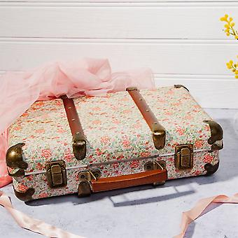 Decoration Floral Suitcase Vintage FLORAL Shabby and Chic