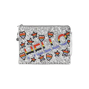 From st xavier hello clutch bag