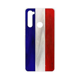 Rumpf für Xiaomi Redmi Note 8 Suppe Französisch Flagge