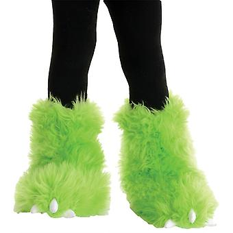 Monster Boots Neon Green