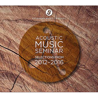 Acoustic Music Seminar - Selecties Van 2012-2016 [CD] USA import