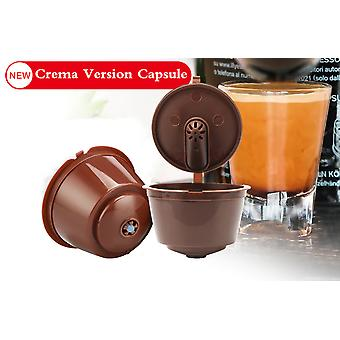 3pcs Refillable, Reusable For Dolce Gusto Coffee Capsule For Dolci Nescafe