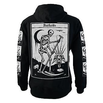 Darkside - death tarot - mens fleece hoodie - black