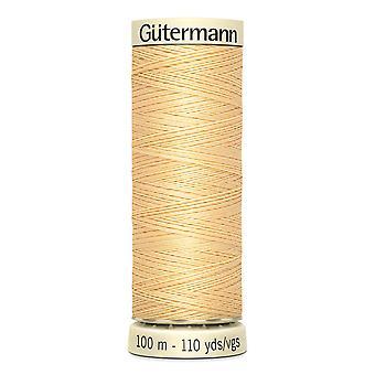Gutermann Sy-all 100% Polyester Tråd 100m Hånd- og maskinfargekode - 3